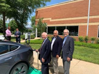 Cardin inserts electric charger into an EV with Reddy and Pastrone